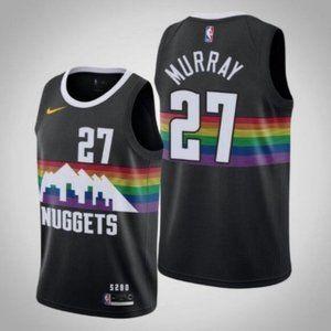 NWT Nuggets Jamal Murray Jersey SZ Various
